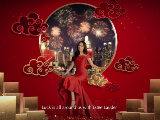 Estee Lauder | Yang Mi 2020 Chinese New Year