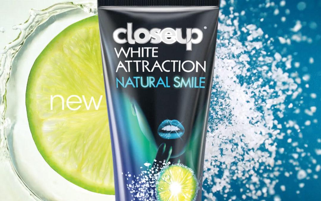 closeup : white attraction
