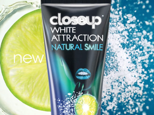 closeup : white attraction